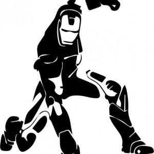 Sticker Pentru Laptop - Iron Man