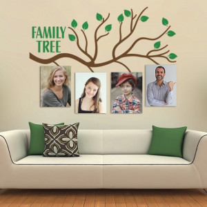 Sticker si canvas - Family Tree