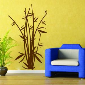 Stiker De Perete Bambus 04