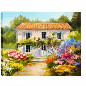 Tablou Canvas Casa De Vacanta