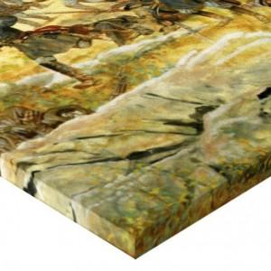 Tablou canvas efect painting - razboi 04