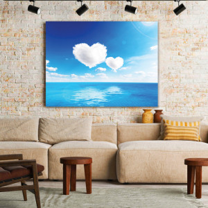 Tablou Canvas Hearts in the Sky