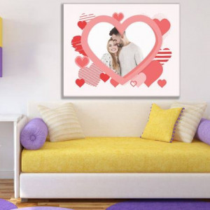 Tablou canvas - lovers - indragostiti model 7