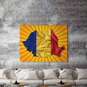 Tablou Canvas Romania 80'