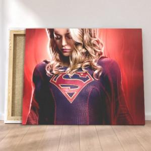 Tablou Canvas - Supergirl