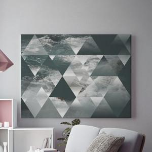 Tablou Canvas Valuri si forme geometrice