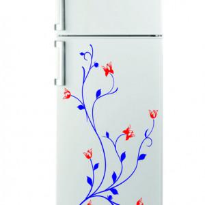Sticker frigider - floare 04