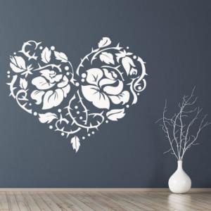 Love Heart Rose Flower