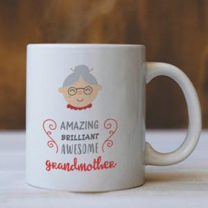 Cana Cu Mesaj - Amazing Grandmother