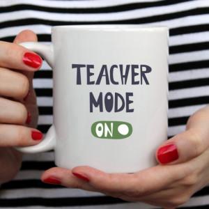 Cana cu Mesaj Teacher Mode On