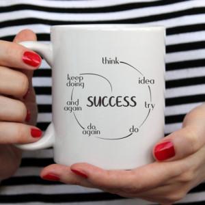 Cana cu Mesaj Think Ideea Success