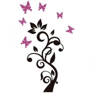 Floare cu Fluturi 01
