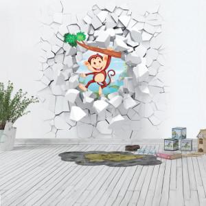 Foto tapet Funny monkey
