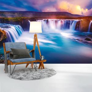 Foto tapet Silky waterfall