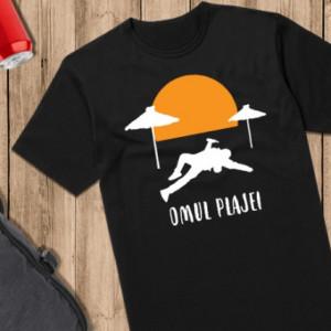 Imprimeu tricou OMUL PLAJEI