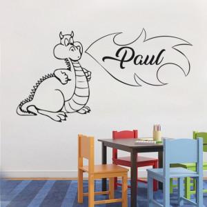 Sticker cu nume - Paul