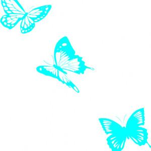Sticker De Perete 3 Fluturi