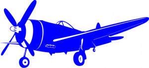 Sticker De Perete Avion 2