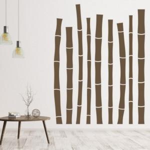 Sticker De Perete Bamboo Trees
