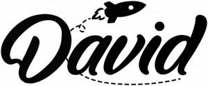 Sticker De Perete Cu Nume - David