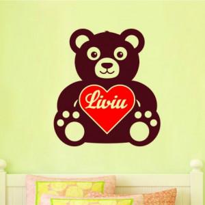 Sticker De Perete Cu Nume - Liviu