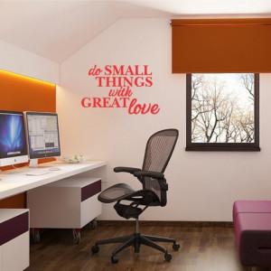 Sticker De Perete Do Small Things