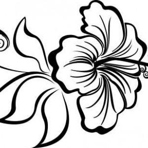 Sticker De Perete Floare De Crin
