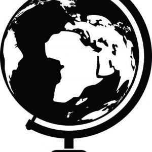 Sticker De Perete Glob