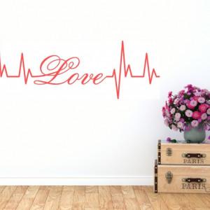 Sticker De Perete Love Puls