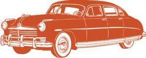 Sticker De Perete Old Car 3