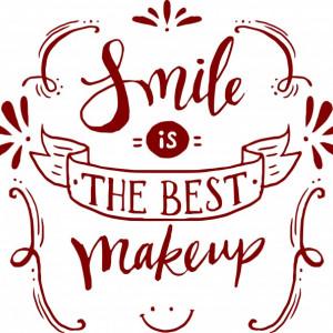 Sticker De Perete Smile Is The Best