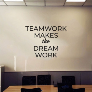 Sticker De Perete Teamwork