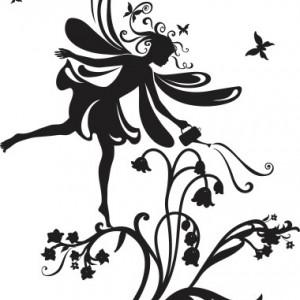 Sticker De Perete Zana Florilor 3