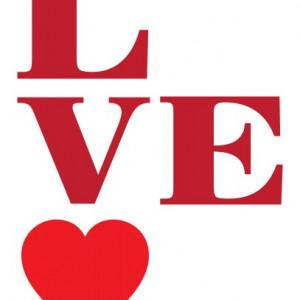 Sticker Si Canvas - Love