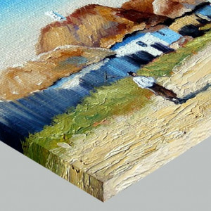 Tablou Canvas Efect Pictura Ulita Satului