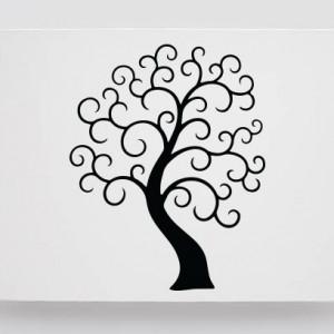 Tablou Canvas Finger Print Tree Slow