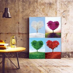 Tablou Canvas Four Seasons Of Love