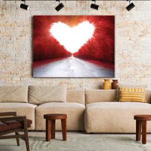 Tablou Canvas Love Road