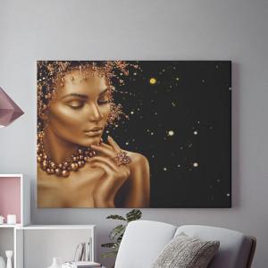 Tablou Canvas Sensual gold