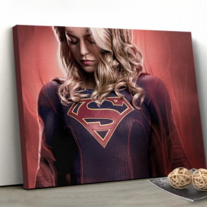 Tablou canvas - Supergirl