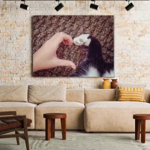Tablou Canvas Unconditional Love (for pets)