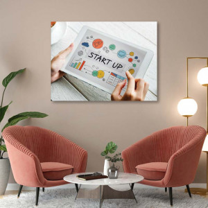 Tablou office - Startup