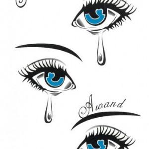 Tatuaj Temporar Blue Eyes
