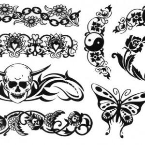 Tatuaj temporar -Yin&Yang- 17x10cm