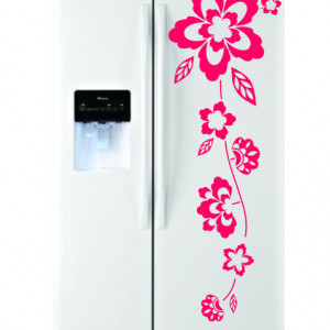 Sticker frigider - floare 10