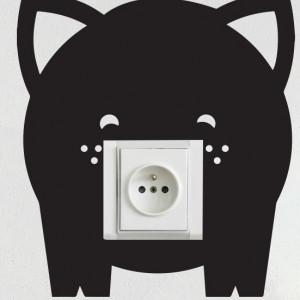 Sticker pentru prize, Purcelus