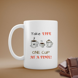 Cana Cu Mesaj - One Cup At A Time