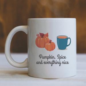 Cana Cu Mesaj - Pumpkin, Spice And Everything Nice