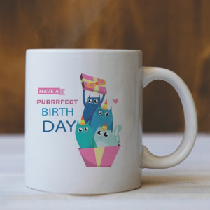 Cana Cu Mesaj - Purrrfect Birthday!
