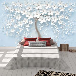 Foto tapet Beautiful white tree
